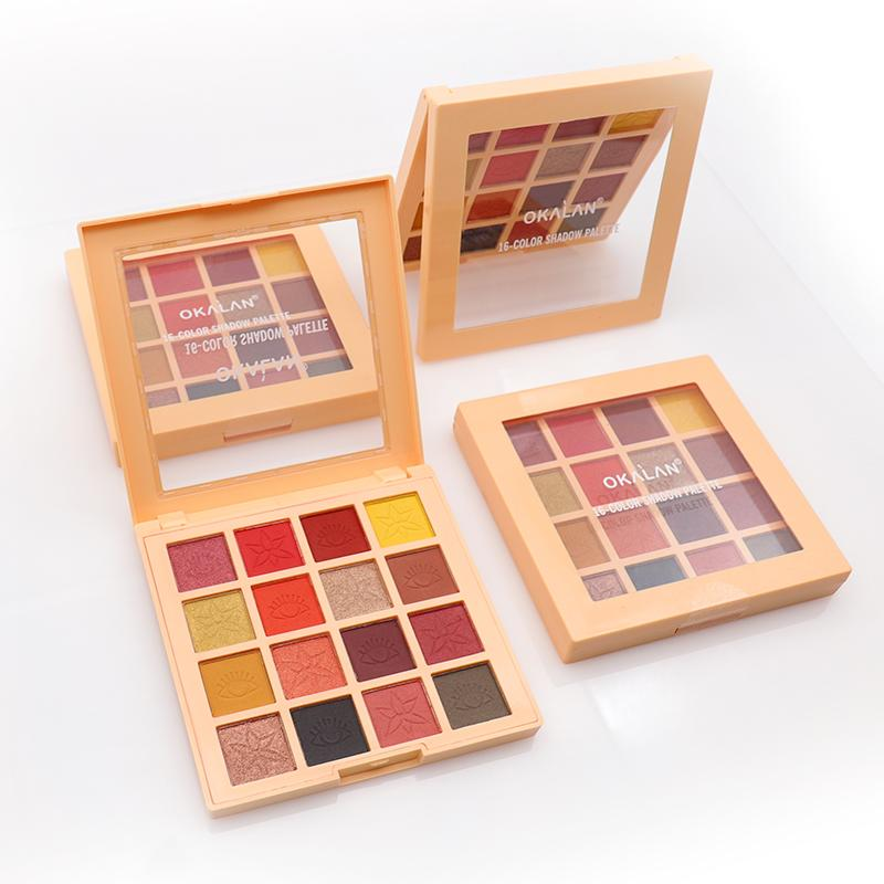 OKALAN 16-COLOR SHADOW PALETTE #E093-A
