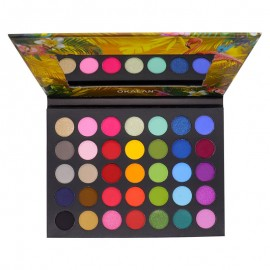 COLOR BURST ll 35-COLOR EYESHADOW PALETTE #E095